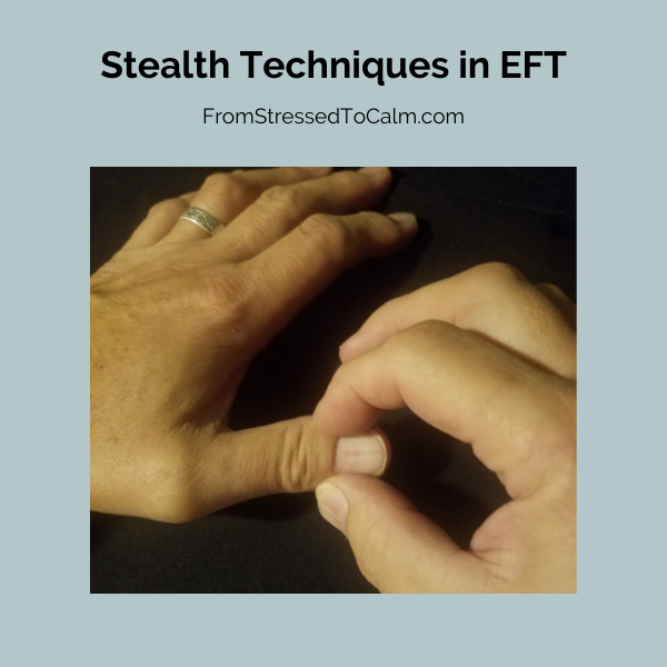Image of EFT stealth technique on Thumb